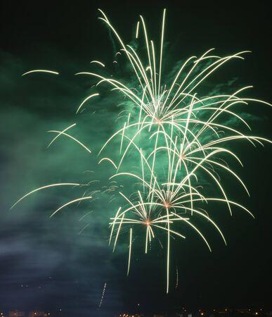 fireworks Banco de Imagens