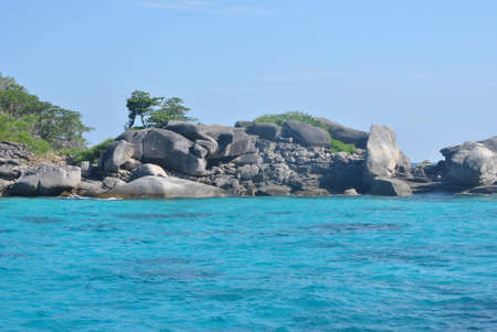 Rock  in Similan Islands, Thailand Stock Photo - 12029358