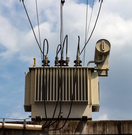 High Voltage Transformer.
