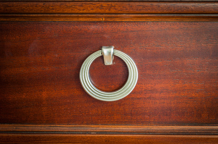 chinese traditional wooden closet knob photo