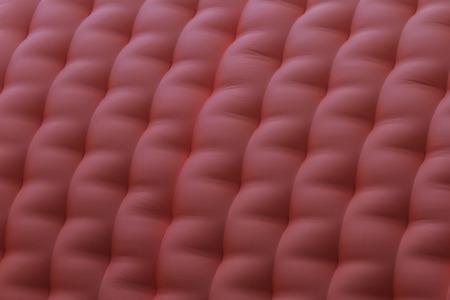 brincolin: Textura roja inflable, juguete castillo salta, niños y sonrisa