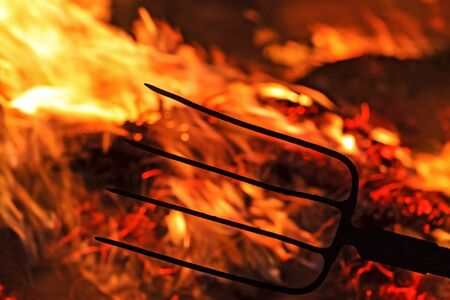 fork in the flames of revolution,conflict, war, enmity, strife, war for resources