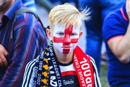 English fan favors his team