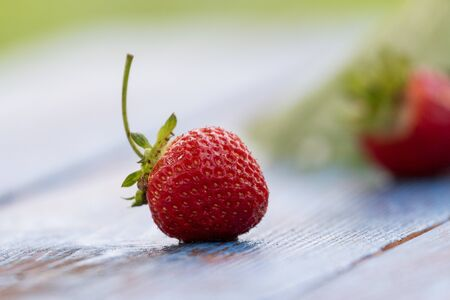 strawberries grown in your garden