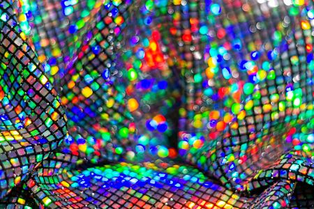 beautiful sequin fabric and color modulations , holidays, holiday mood