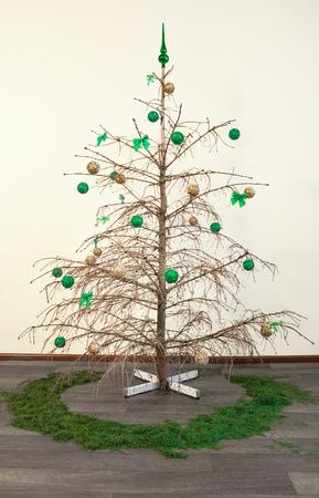 乾燥クリスマスツリー 写真素材