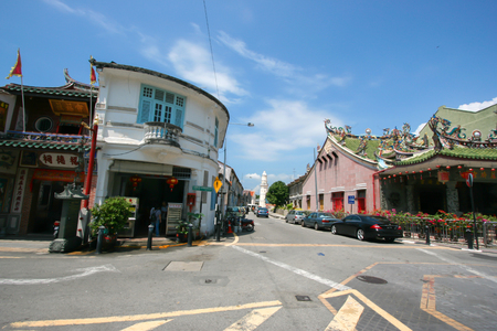 architectural heritage of the world: Georgetown, Penang, Malaysia