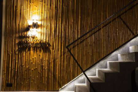 decoraton: design and decoraton in modern staircase