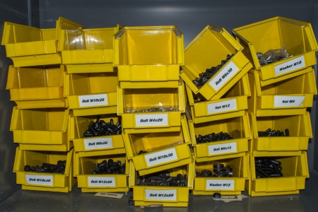 standard steel: collocation sorting of tooling for workshop