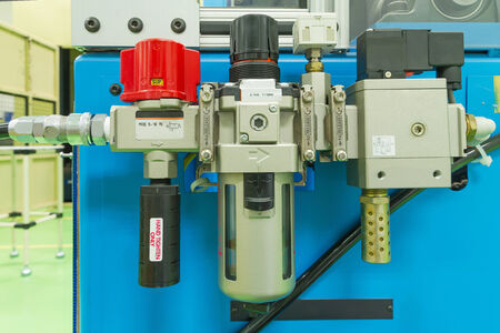 air pressure:  Air pressure valve controller, industrial equipment