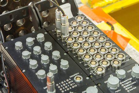 logger: close up of Sensor chanel for DATA LOGGER