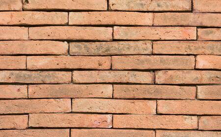 decoratively: Brick wall background