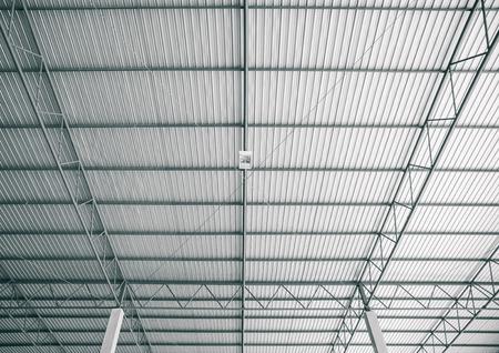 roof of modern storehouse Standard-Bild