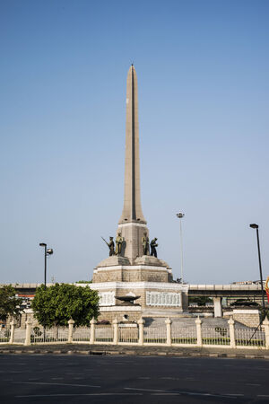 Victory monument, Bangkok, Thailand  photo