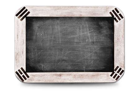 Korean flag soccer 2014 framed of Small chalkboard photo