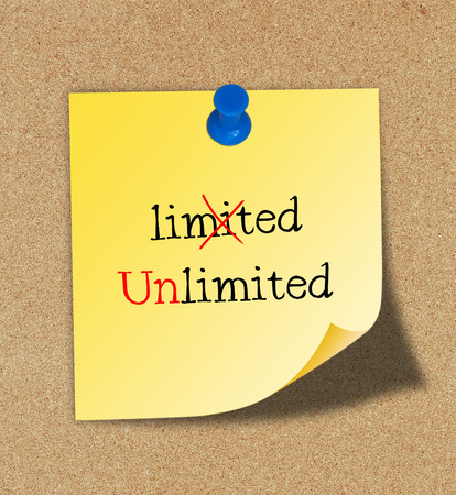 unlimited: Changing word limited into unlimited