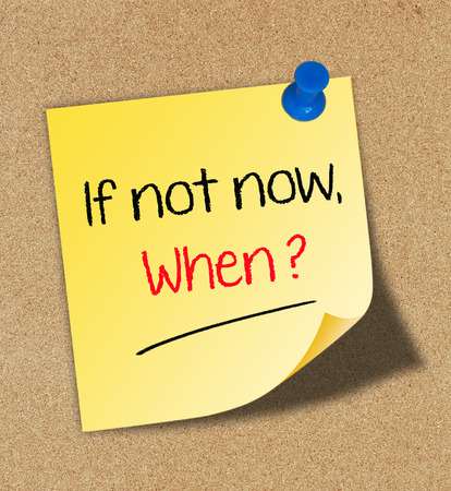 Zo niet nu, wanneer