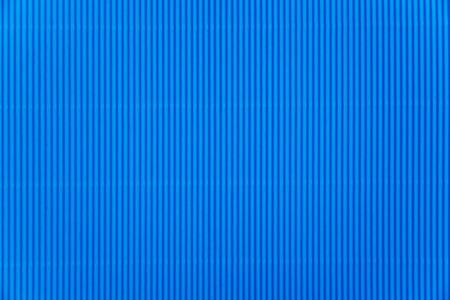 goffer: Blue corrugated paper background  Stock Photo