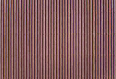 goffer: Brown corrugated paper background Stock Photo