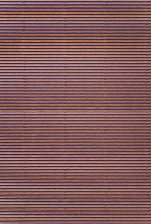 Brown corrugated paper background Stock Photo