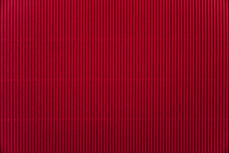 goffer: Red corrugated paper background Stock Photo