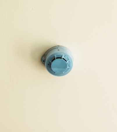 celling: Fire sprinkler on celling, water piping system designed for life and fire safety.