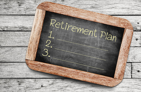 Retirement Plan Stock Photo - 33009103