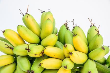 mas: Ripe Pisang Mas banana or Musa :Kluai Khai, famous small golden