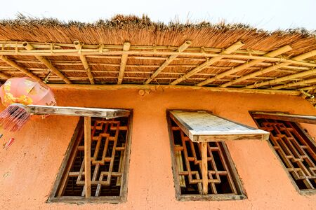 earthen: windows of earthen house
