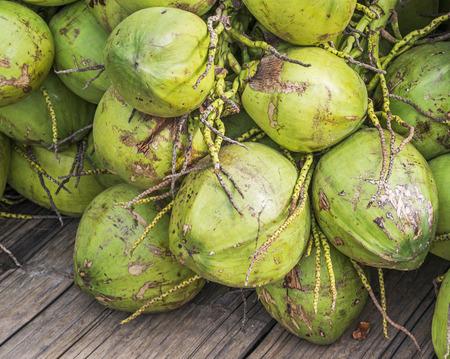 spacial: Young coconuts
