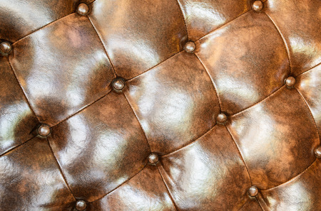 seamless leather: Seamless brown leather texture Stock Photo