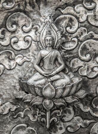 lanna: Silver handicrafts of Lanna Thai style Thailand.