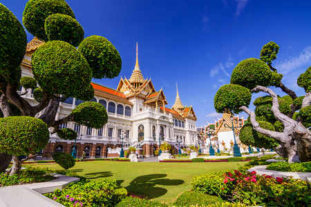 Grand palace of bangkok, Kingdom of THAILAND