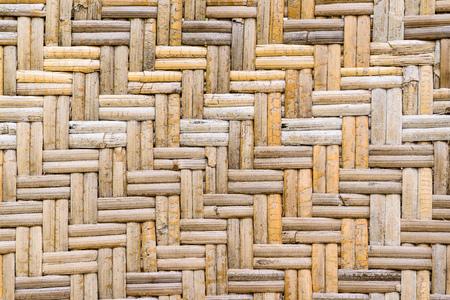wicker bar: Old woven rattan pattern background