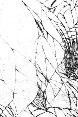 broken glass window: Broken glass texture, cracked in the glass.