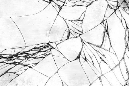broken glass: Broken glass texture, cracked in the glass.