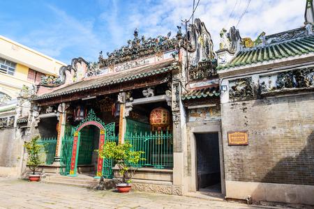 Thien Hau Temple in Ho Chi Minh City, Vietnam