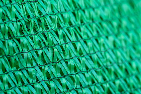 the sun and shade: Close up Shading Net protect sun shade Stock Photo