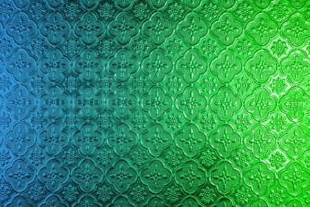 stained glass windows: Abstract stained glass on the inside surface of windows. closeup color glass background.