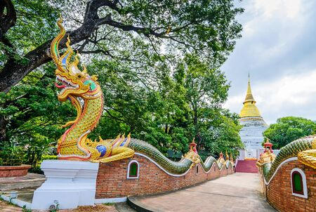 Wat Phra Kaew Don Tao is  Buddhist temple in Lampang Province, Thailand.