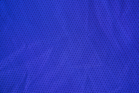 fabric textures: Blue sports fabric texture jersey