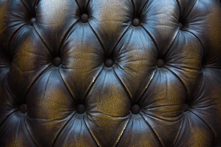 black leather texture: Old leather close-up background of Sofa
