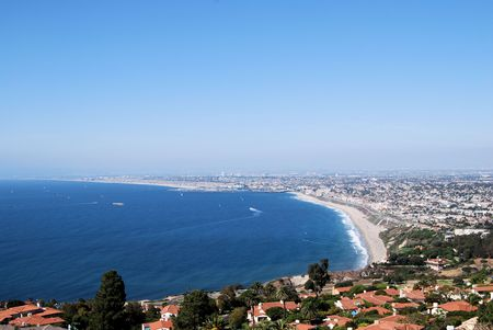 california beach: Nature meets the edge of Insanity