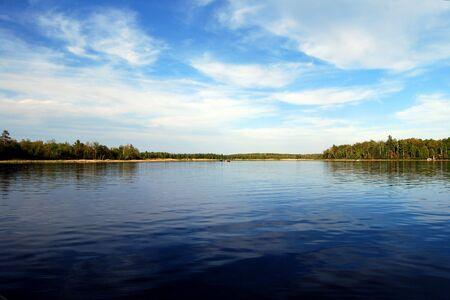 Pensioen hemel op een Minnesota Lake