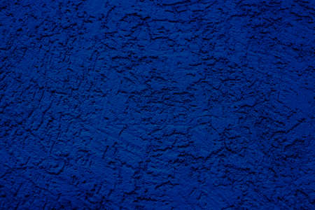 The wall is made of plaster with scratches. Rough surface. abstract blue background. A template for the design of a website or ad. 免版税图像 - 159472756