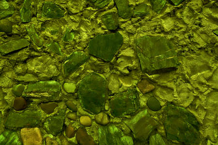 Abstract background of many large stones. The blank stone surface. Blank for design.