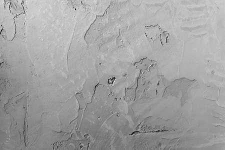 Gray blank surface of a concrete wall with plaster. Abstract design background with fine texture.