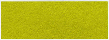 A yellow textured banner in a white plaster frame. Uniform trend background
