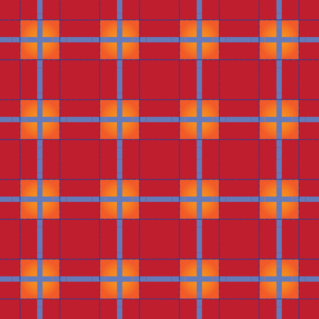 scot: Textured tartanplaid, vector pattern that can be seamlessly tiled.