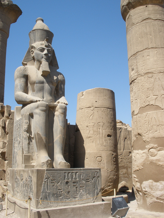 bce: Luxor Temple is a large Ancient Egyptian temple complex located on the east bank of the Nile River in the city today known as Luxor (ancient Thebes) and was founded in 1400 BCE.
